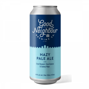 Good Neighbour Brewing Hazy Pale Ale