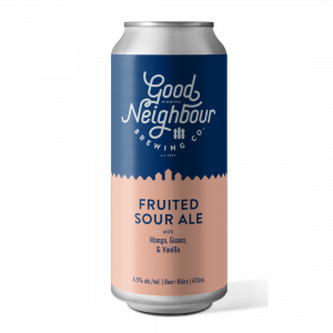 Fruited Sour Ale with Mango, Guava and Vanilla